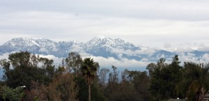 Another view of the San Gabriel Mountains