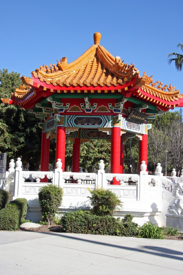 The Chinese Memorial Pavilion