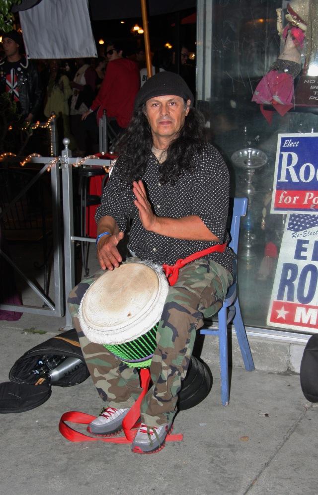 Pomona Art Walk 035 drummer