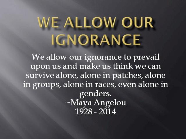 Maya Angelou Qoute ps
