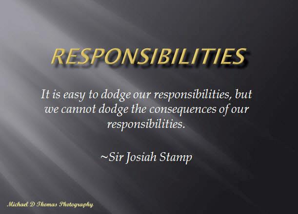 Responsibilities ps