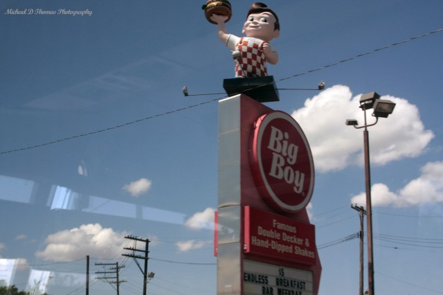 Detroit 240 Big Boy Sign