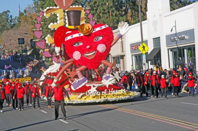 American Heart Association 2016 Rose Parade Float