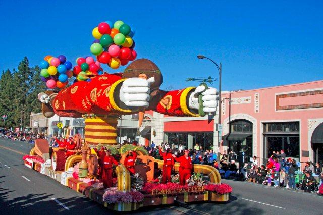 Trader Joe's Float at the 2016 Rose Parade